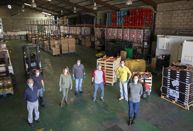 Huelva.- Coronavirus.- El Banco de Alimentos organiza una gran recogida virtual