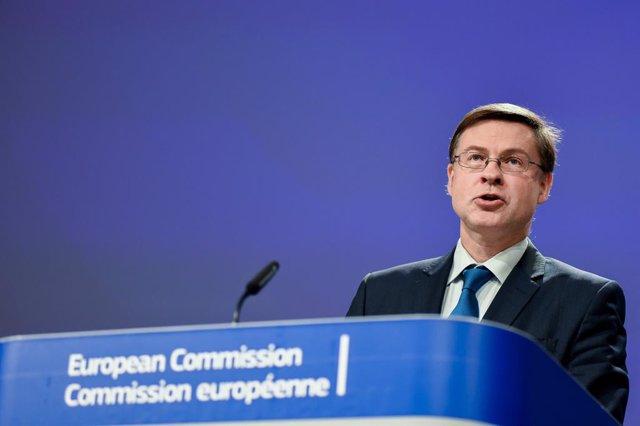 El vicepresident econòmic de la Comissió Europea, Valdis Dombrovskis