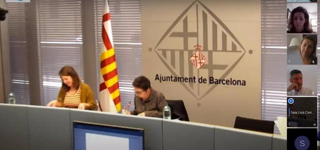 Comisión telemática de Ecología, Urbanismo, Infraestructuras y Movilidad de Barcelona.
