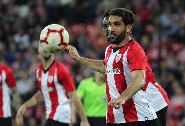 El jugador del Athletic Club Raúl García