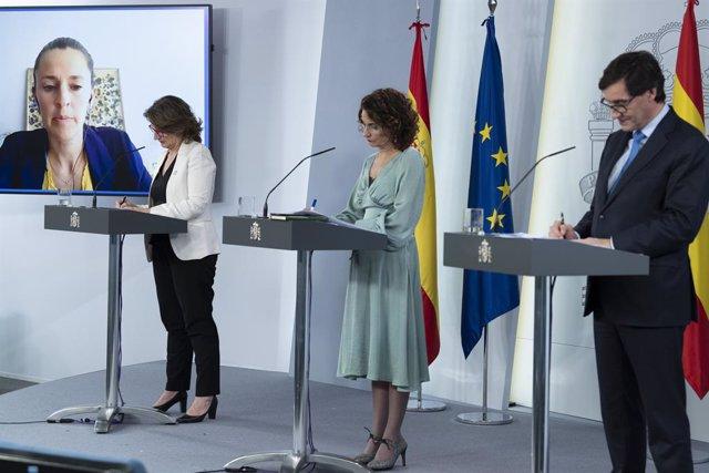 Coronavirus.- El Gobierno destinó 544.486 euros a un vuelo de repatriación desde