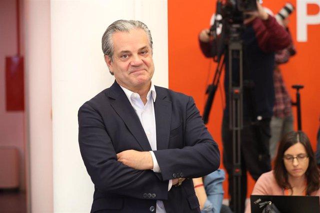 El número dos de Ciudadanos al Congreso por Madrid, Marcos de Quinto, en una imagen de archivo