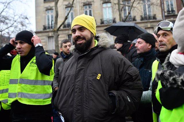Eric Drouet, exlíder de los chalecos amarillos.