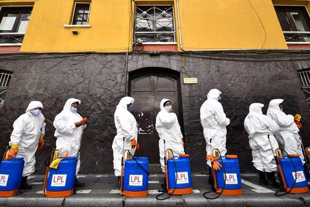 Coronavirus.- Detenido el encargado de Adquisiciones de Salud boliviano por el p