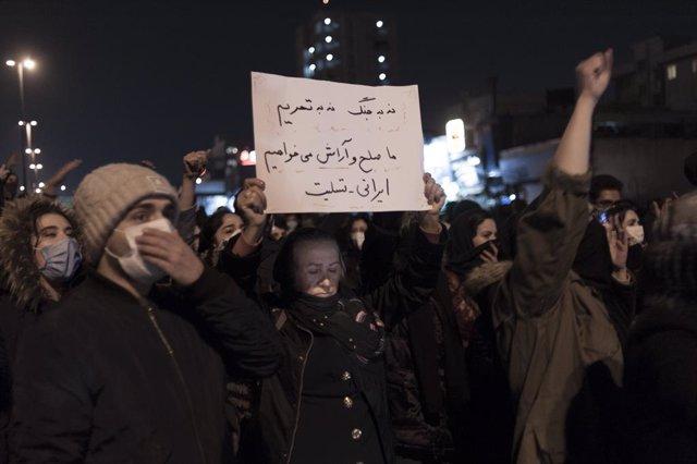 """Irán.- AI denuncia que el """"despiadado"""" uso de la fuerza de Irán provocó 304 muer"""