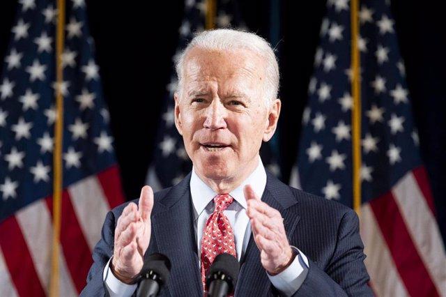 El exvicepresidente de Estados Unidos Joe Biden.