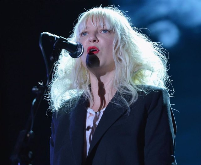 """Singer Sia performs onstage at """"TrevorLIVE LA"""" honoring Jane Lynch and Toyota for the Trevor Project"""