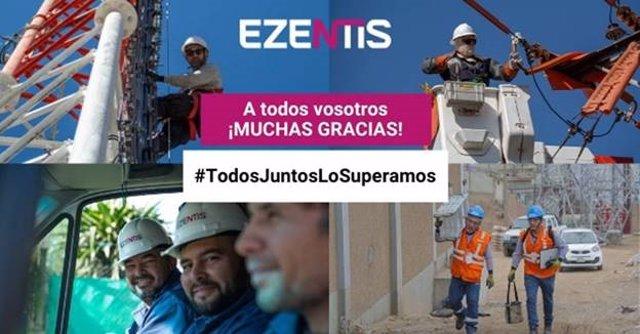 """Economía.- Ezentis se anota pérdidas de un millón hasta marzo con un impacto """"mo"""