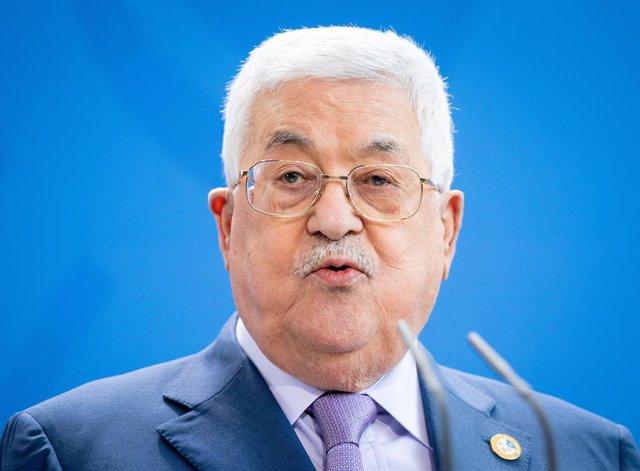 El president de l'Autoritat Palestina, Mahmud Abbas