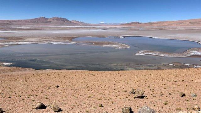 Análogo de antiguo lago marciano en Sudamérica