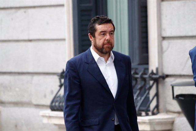 El dirigente de Ciudadanos Miguel Gutiérrez.