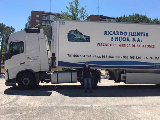 Grupo Ricardo Fuentes dona 1.000 kilos de pescado en Madrid por la crisis del coronavirus