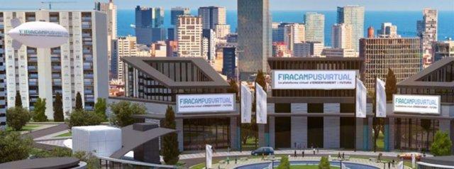 Destacadas universiades y centros de formación participarán en el certamen virtual del Saló de l'Ensenyament, FiraCampusVirtual