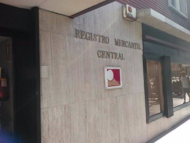 Imatge d'arxiu del Registre Mercantil Central.