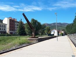 Estación de tren de La Pobla de Segur.