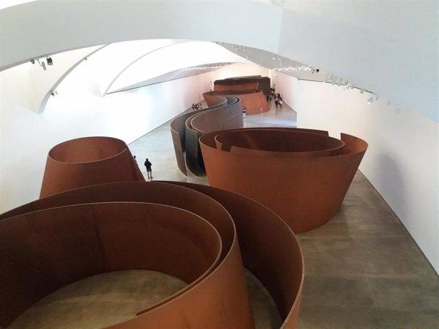 Interior del Museo Guggenheim Bilbao