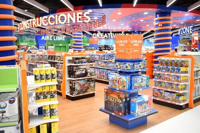Tienda Toys R Us en España