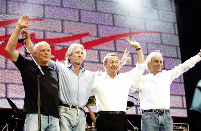 Reunión de Pink Floyd en 2005