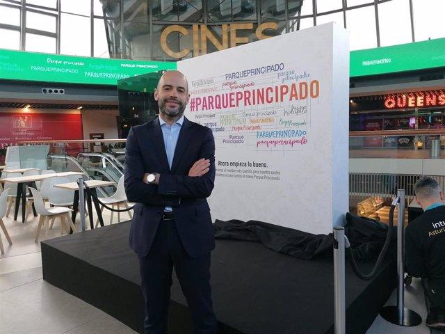Fernando García, gerente de Parque Principado.