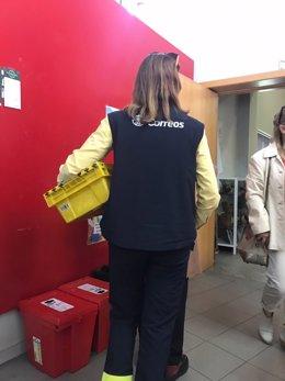 Voto por correo en Galicia en las elecciones generales de 2019.