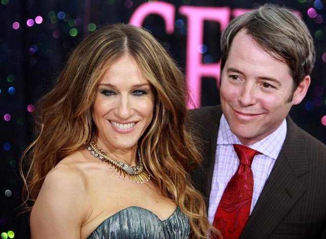 "Actors Sarah Jessica Parker And Matthew Broderick Attend The Premiere Of ""Sex And The City: The Movie"""