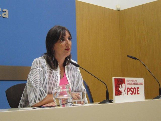 La concejal del PSOE en el Ayuntamiento de Zaragoza, Lola Ranera