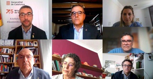 El director de Antifrau y el conseller Bernat Solé analizan cómo garantizar la integridad pública en el contexto del COVID-19