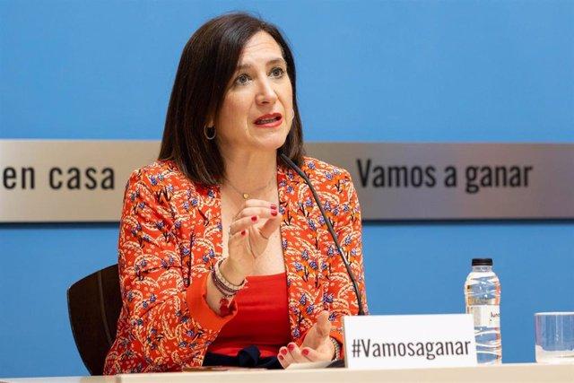 La vicealcaldesa, Sara Fernández