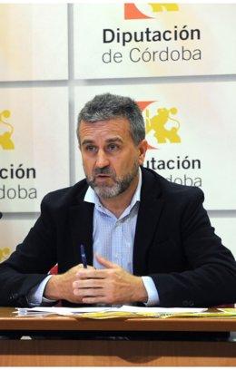 El presidente el IPBS de la Diputación de Córdoba, Francisco Ángel Sánchez