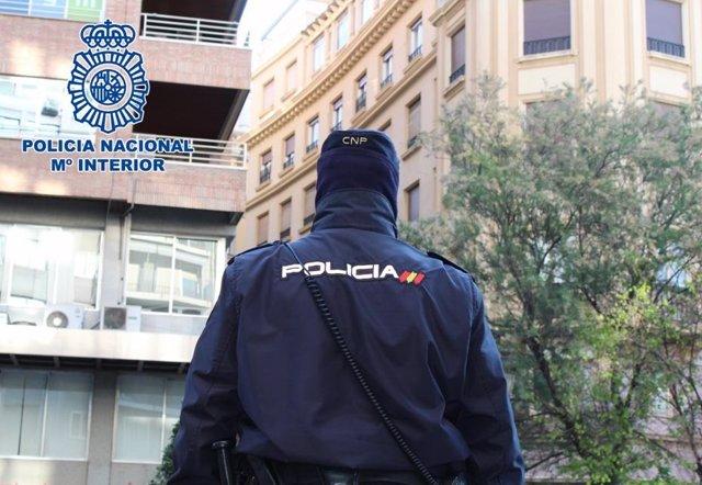 Agente de la Policía Nacional en una foto de archivo