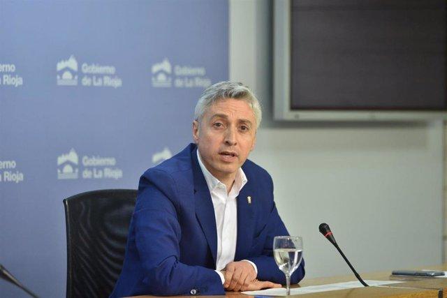 El consejero de Gobernanza, Francisco Ocón