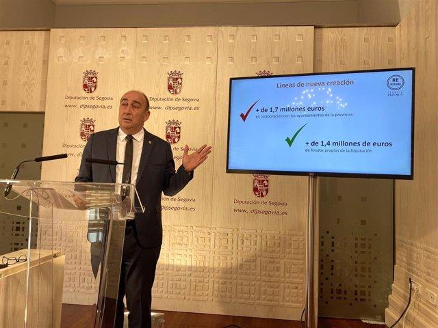 Miguel Ángel de Vicente presenta el programa Reintegra.