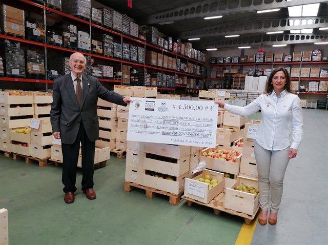 Coronavirus.- El Club de Rugby El Salvador dona 4.500 euros a la Fundación Banco
