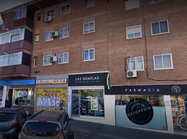 Imaen de la clínica de salud que fue robada por un hombre ya detenido por Policía Municipal de Madrid.