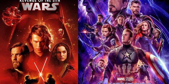 1. Vengadores: Endgame o Star Wars: La venganza de los sith ¿Cuál es el mejor blockbuster veraniego de la historia?