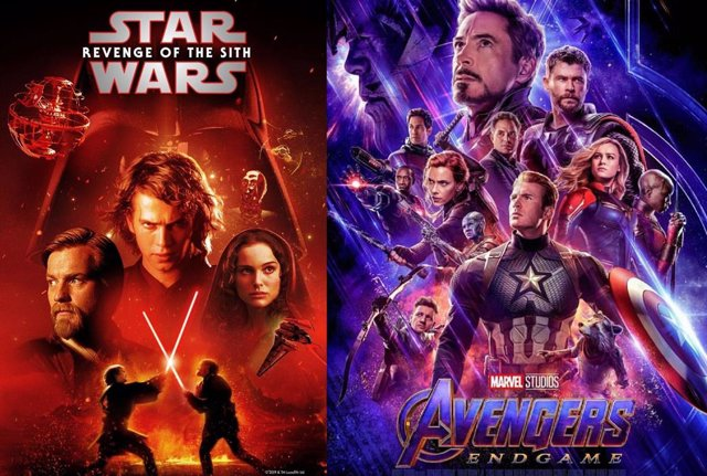 Star Wars: La venganza de los sith vs Vengadores: Endgame