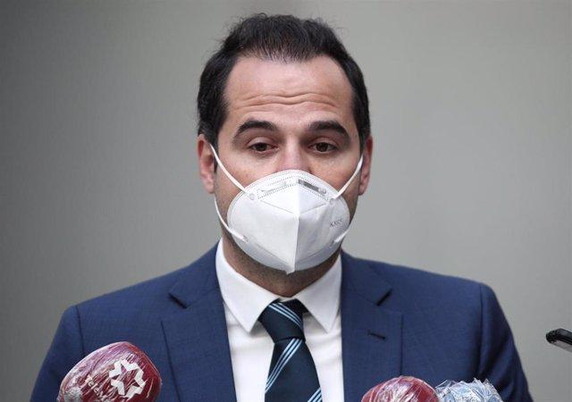 El vicepresidente, consejero de Deporte y Transparencia y Portavoz del Gobierno de la Comunidad de Madrid, Ignacio Aguado.