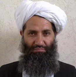 El líder talibán, Hebatulá Ajundzada