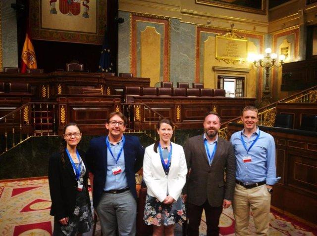 Representantes de Ciencia en el Parlamento en el Congreso