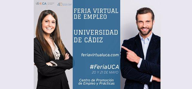 Imagen de la Feria Virtual de Empleo de la UCA