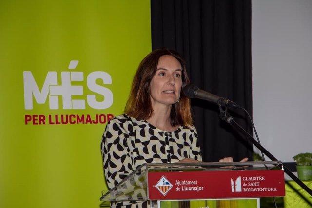 La regidora de MÉS per Llucamajor, Maria Barceló.