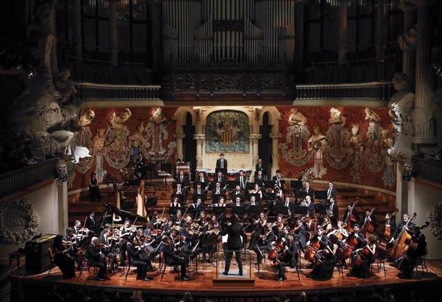 Imagen de la Orquesta Camera Musicae durante una actuación