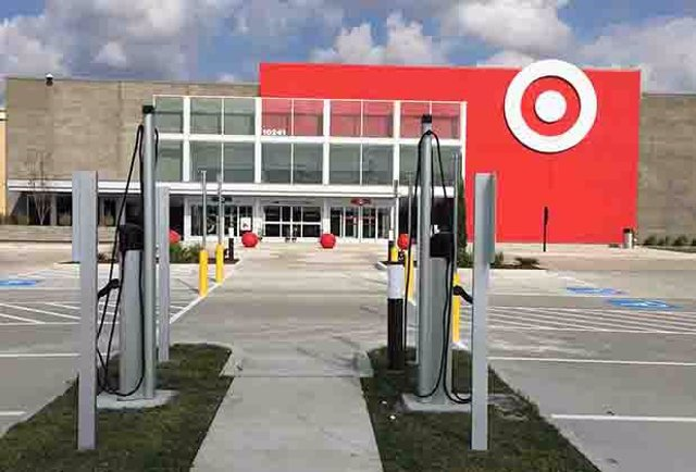 Grandes almacenes de Target.