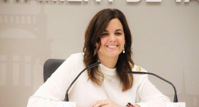 La vicealcaldesa de València y concejala de Desarrollo Urbano, Sandra Gómez, en una imagen reciente.