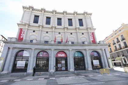 Coronavirus.- El Teatro Real busca captar fondos para impusar su proyecto cultural
