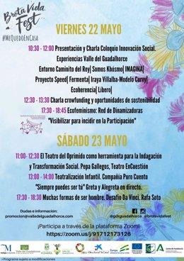 Cartel Brota Vida Fest online