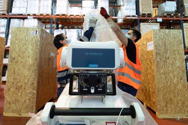 Endesa destina 1,7 millones a la compra de material sanitario para el SAS