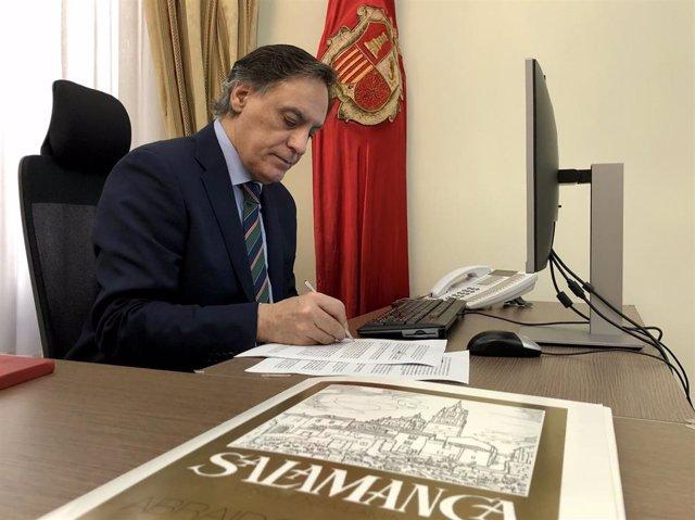 20 De Mayo De 2020. Notas De Prensa. Ayuntamiento De Salamanca