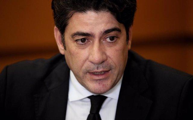 El consejero de Vivienda de la Comunidad de Madrid, David Pérez