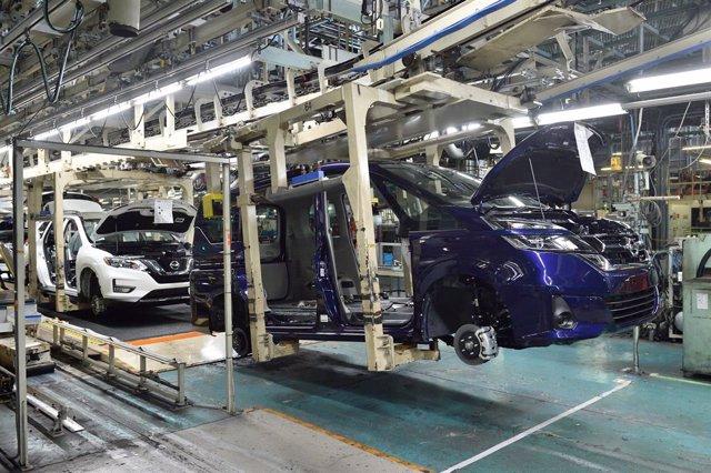 Planta de Nissan en Japón.